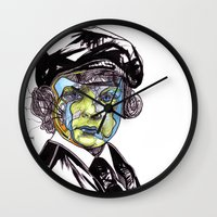 u2 Wall Clocks featuring Decomposition IV - Lucifer by Joseph Walrave