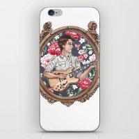 vampire weekend iPhone & iPod Skins featuring Ezra Koenig of Vampire Weekend by Jesse Knight