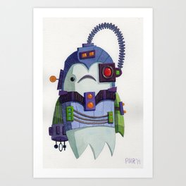 You Will Be Assimilated Art Print