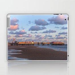 Blackpool Central Pier Sunset Laptop & iPad Skin