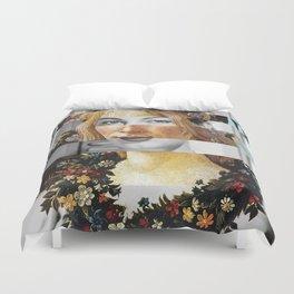 Sandro Botticelli's Flora & Ava Gardner Duvet Cover
