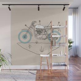 hunt Wall Mural