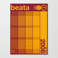 beata single hop Canvas Print