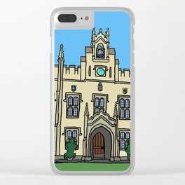 Cambridge struggles: Sidney Sussex Clear iPhone Case