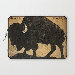 Bison Buffalo Whiskey Bourbon Laptop Sleeve