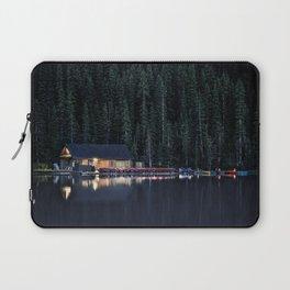 Night at Lake Louise Laptop Sleeve