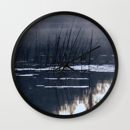 Mists on the Water Wall Clock