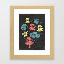 Super Smash Bros inspired Gaming art Framed Art Print