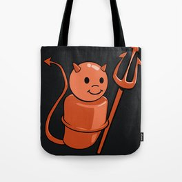 Peg Devil Tote Bag