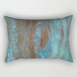 Patina Bronze rustic decor Rectangular Pillow