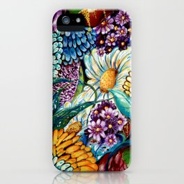 Flowers and Wild Nature iPhone Case