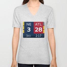 NE 3 ATL 28 Unisex V-Neck