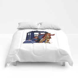 4th Doctor, Sarah Jane, K-9 and the TARDIS Comforters