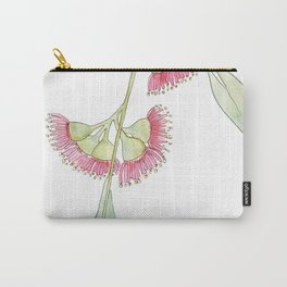 Gum Tree Flowers Carry-All Pouch