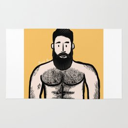 Beard Boy: Alejandro Rug