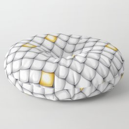 Fish Scale Pattern Design Floor Pillow