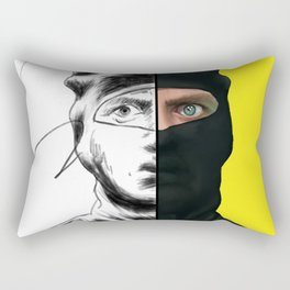 Ninja Sex Party: Take On Me Ninja Brian Rectangular Pillow
