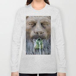 Lion Fountain Long Sleeve T-shirt