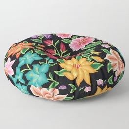 Floral Pattern from Oaxaca Floor Pillow