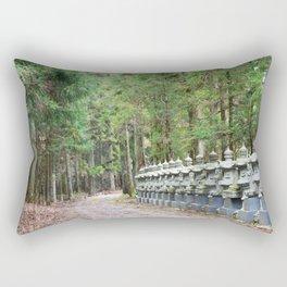 Okunoin Temple Rectangular Pillow