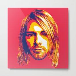 Cobain Metal Print