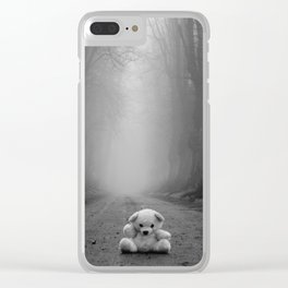 Teddy woods Clear iPhone Case