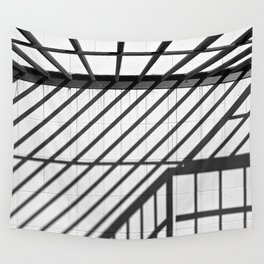 Line Directions Wall Tapestry