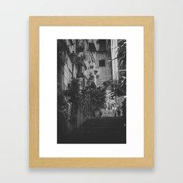 Naples III Framed Art Print