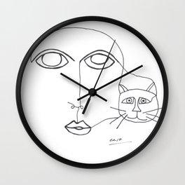 Viv Wall Clock