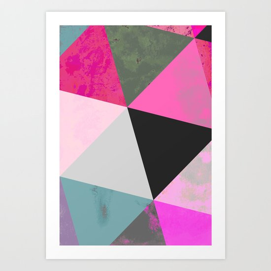 Abstract 03 Art Print