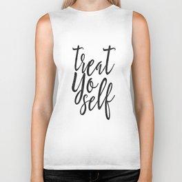 Treat Yo Self, Quote prints,Love Yourself, Kitchen Decor,Printable Wall Art,Quote Printable Biker Tank