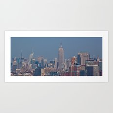 Manhattan Skyline - New York City Art Print
