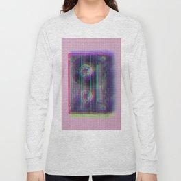 Dot glitch cassette Long Sleeve T-shirt