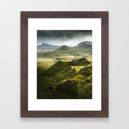 Isle of Skye, Scotland Framed Art Print