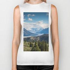 Mountain Landscape # sky Biker Tank