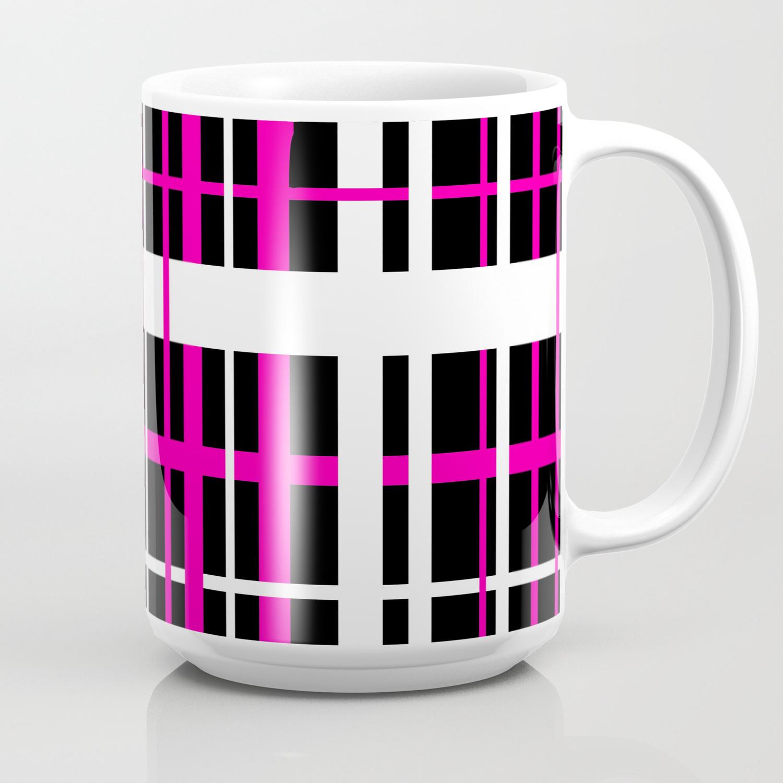 Sy Hot Pink Coffee Mug By