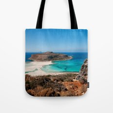Balos Beach Tote Bag