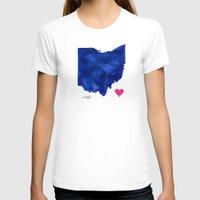 ohio T-shirts featuring Ohio by Kathy Morton Stanion