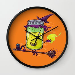 The Witch Jam Wall Clock