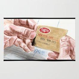 Ralph's Club Card Rug