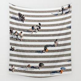 Rain Crossing Wall Tapestry