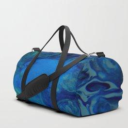 Big Blue Hole - Abstract Acrylic Art Duffle Bag