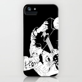 Michael Gira iPhone Case