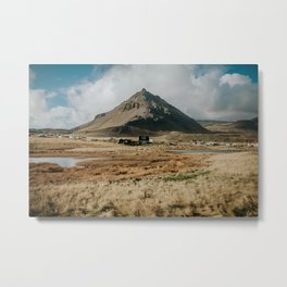 Mt. Stapafell, Snæfellsnes - Landscape Photography Metal Print