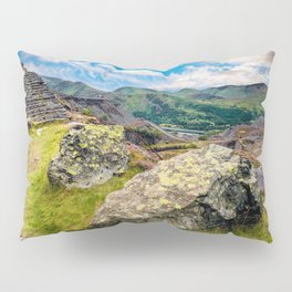 Quarry Steps Snowdonia Pillow Sham