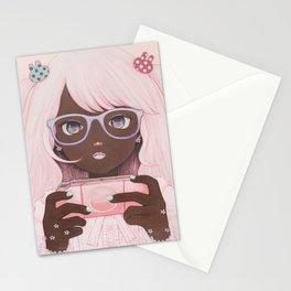 Gamergirl 3 p Stationery Cards
