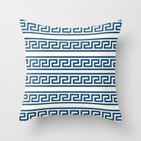 greek Throw Pillows featuring Greek II by Mr and Mrs Quirynen