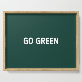 Go Green Serving Tray