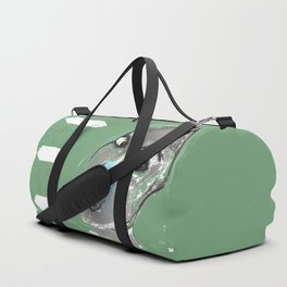 Lady Green Duffle Bag