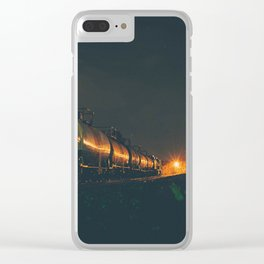 Timing, Distance Clear iPhone Case